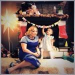 2-летняя дочка Светланы Пермяковой научилась стряпать пельмени