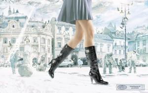 женские сапоги зимние