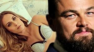 Леонардо Ди Каприо с Элизой Джонк