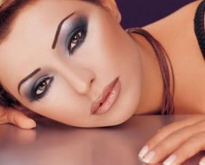 smoky eyes макияж